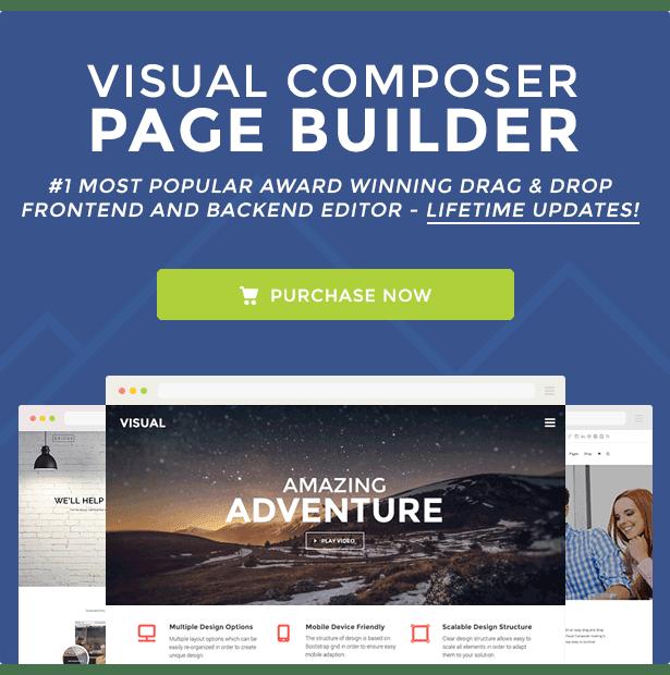 Visual Composer 4.12 WordPress Page Builder Plugin Premium
