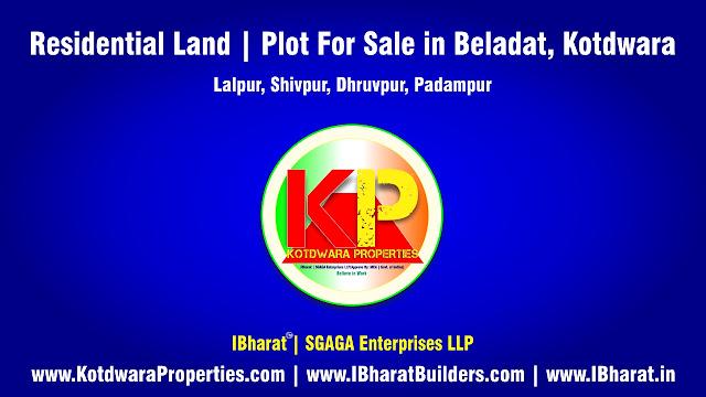 Residential Land  Plot For Sale in Beladat (Near By Lalpur, Shivpur, Dhruvpur, Padampur) Kotdwara, Pauri Garhwal, Uttarakhand