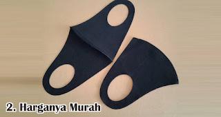 Harganya Murah merupakan keuntungan menjadikan masker sebagai souvenir