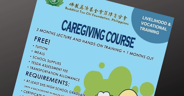 Caregiving + OJT | Free Livelihood & Local Training