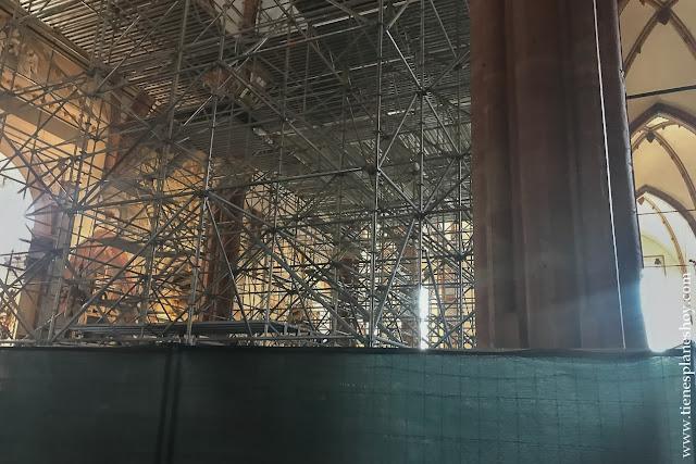 Obras duomo catedral Verona viaje a Italia