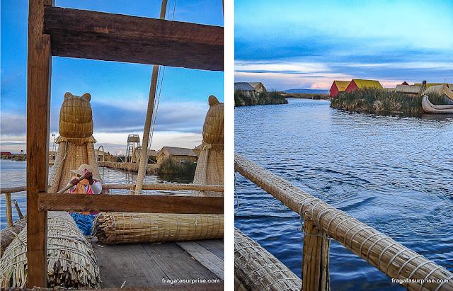 Ilhas flutuantes dos Uros, Puno, Peru