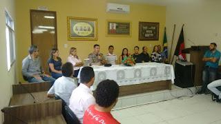 Audiência Pública é realizada em Algodão de Jandaíra para Discutir sobre Segurança no Município