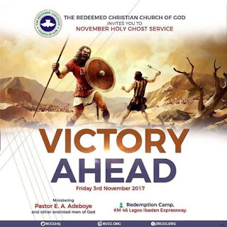 Watch LIVE: RCCG Holy Ghost Service November 2017 – Victory Ahead