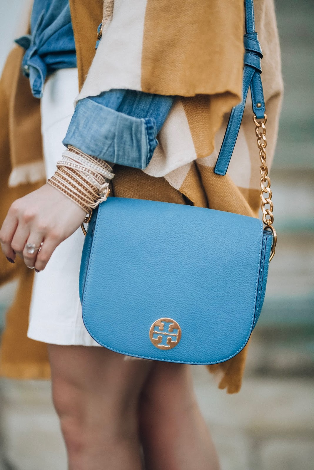Target Style: Neutrals For Fall - Neutral Fall Look Tory Burch Bag - Something Delightful Blog #fallstyle #targetstyle