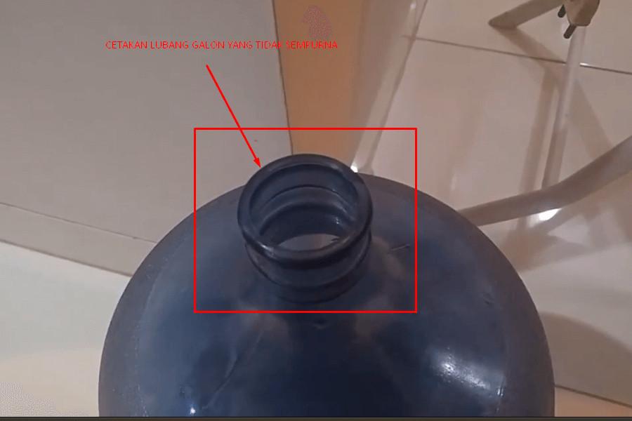 Cara memperbaiki dispenser bocor