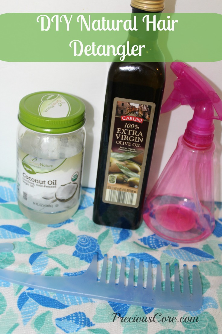 diy natural hair detangler