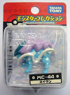 Suicune figure Takara Tomy Monster Collection MC series