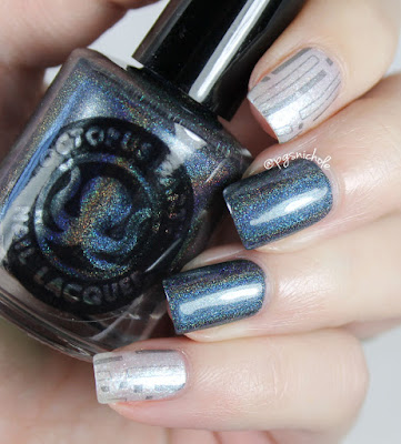 Octopus Party Nail Lacquer + B.I.T.C.H. by Jaclyn