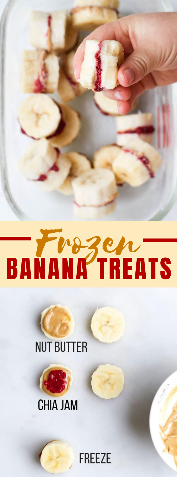 FROZEN BANANA TREATS #diet #healthysnack