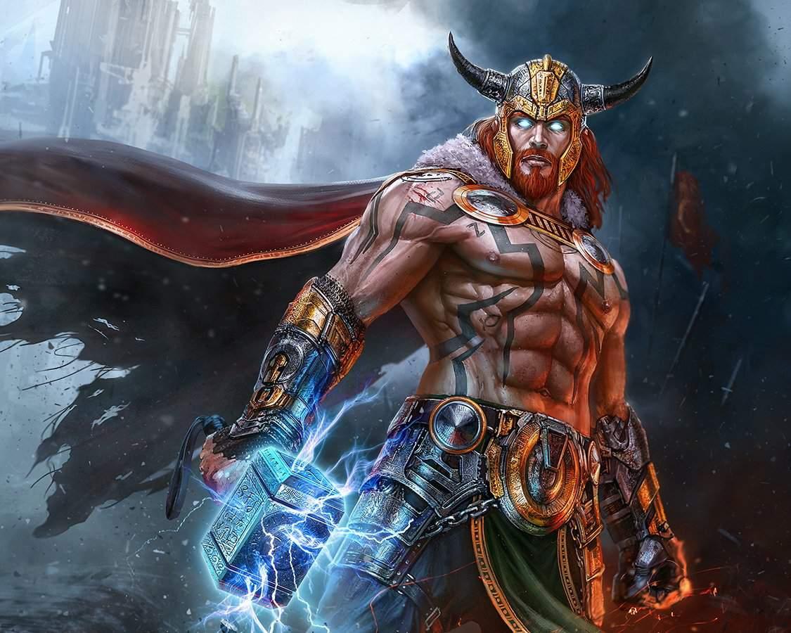 Thor, o Deus Nórdico Dos Trovões e Das Batalhas