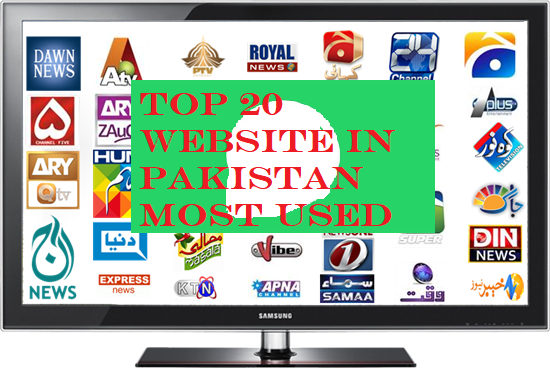 websites most used in pakistan