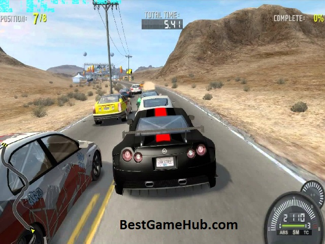 Need for Speed ProStreet Compressed PC Game With Crack Download