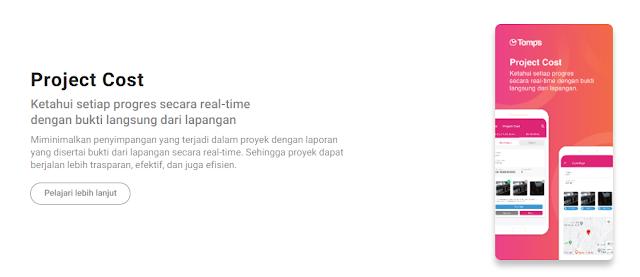 Efisiensi dan Efektivitas Manajemen Proyek Bersama Tomps Sebagai Project Management Software Indonesia