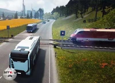 تحديثات تحميل لعبة Bus Simulator 18 للكمبيوتر من ميديا فاير