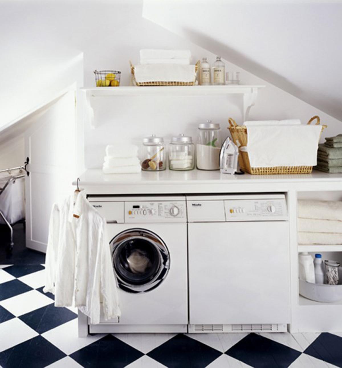 hunted interior laundry room inspirations. Black Bedroom Furniture Sets. Home Design Ideas