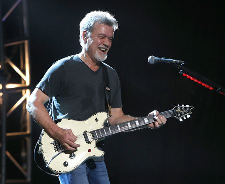 Eddie Van Halen Gitaris Maestro dunia Tutup Usia 65 Tahun