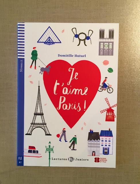 """Recenzje #198 - """"Je t'aime Paris !"""" - okładka książki - Francuski przy kawie"""