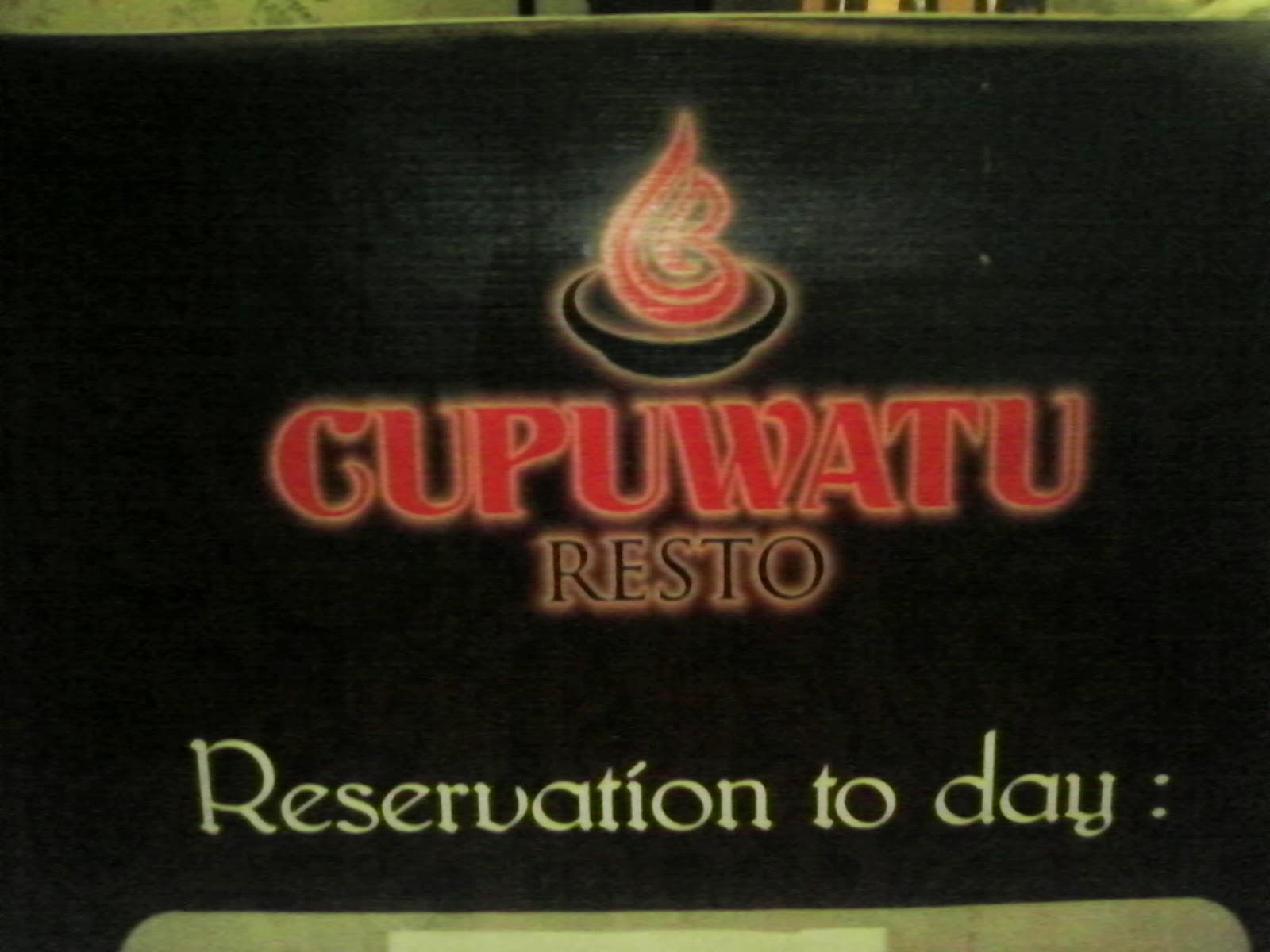 cupuwatu restaurant