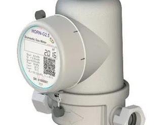 Domestic Gas Meter HORN Energoflow-Gas Meter