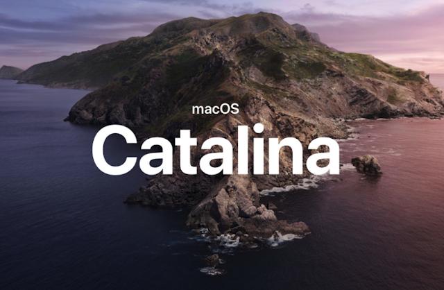 آبل تطلق أول إصدار تجريبي من macOS Catalina 10.15.1