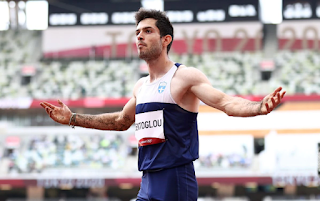 Athletics-Greece's Tentoglou wins gold with dramatic final leap