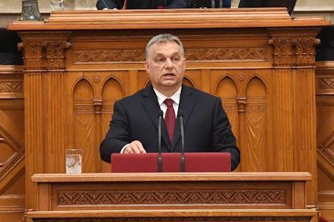 Orbán Viktor miniszterelnök napirend előtti felszólalásával indul ma az Országgyűlés őszi ülésszaka