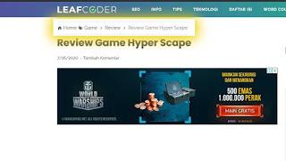 Breadcrumb Leafcoder.org