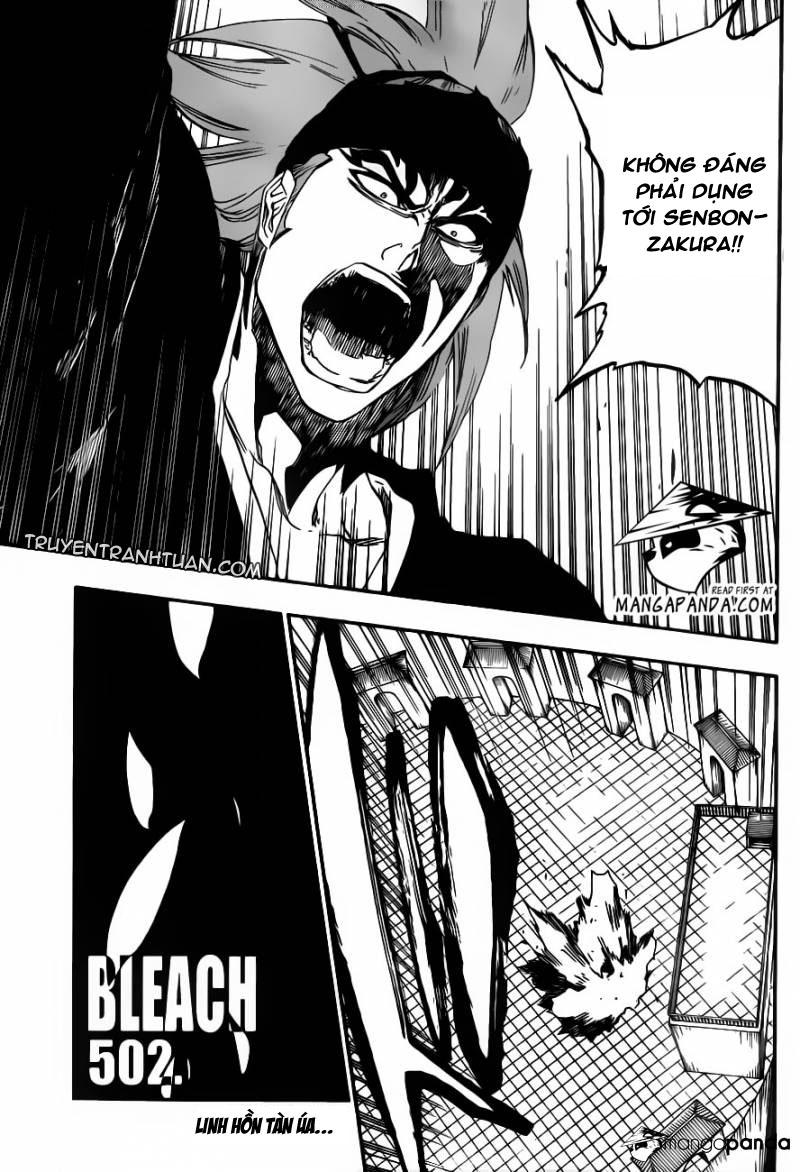 Bleach chapter 502 trang 3