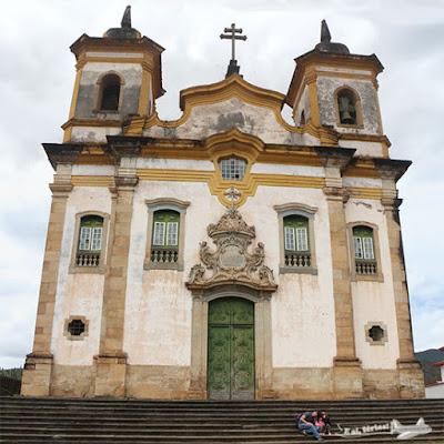 Igreja São Francisco de Assis, Praça Minas Gerais, Mariana, Minas Gerais.