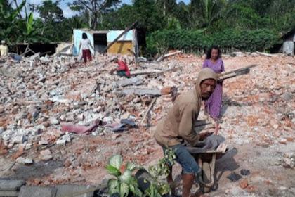 Dampak Gempa Di Kabupaten Malang: 4 Warga Meninggal 4.404 Rumah Rusak