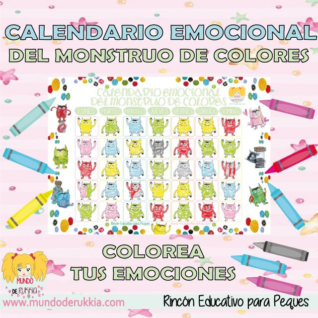 calendario-emocional-monstruo-colores