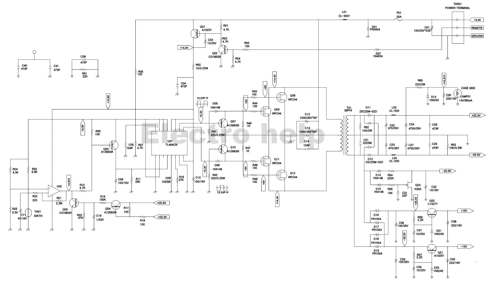 Electro Help  Da 3504 Jbl