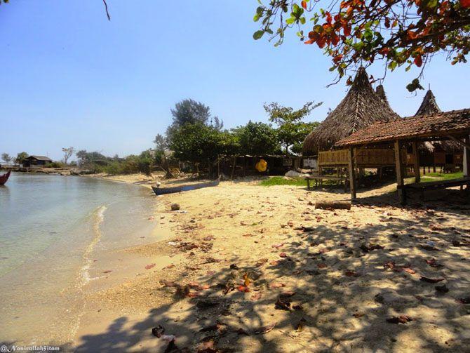 Pasir pantai Ombak Mati, Bondo, Jepara