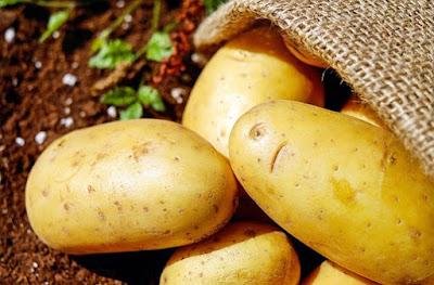 Potato: dark knees remedy