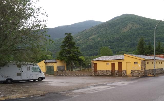 Estacionament en Esterri d'Àneu