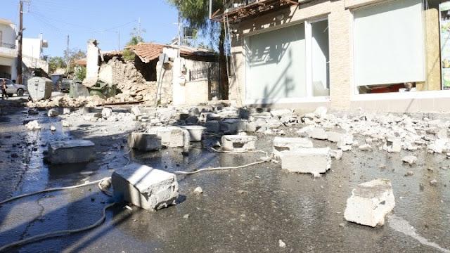 Σεισμός 5,8 Ρίχτερ στην Κρήτη - Ένας νεκρός - Εννέα τραυματίες - Μεγάλες ζημιές
