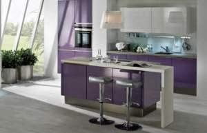 island kitchen set