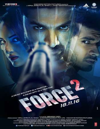 Force 2 2016 Hindi 350MB New DVDScr 480p