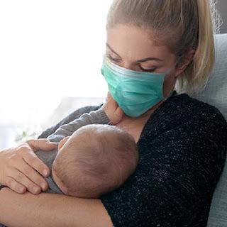 मां मास्क पहन कर बच्चे को कराएं स्तनपान | #NayaSaveraNetwork