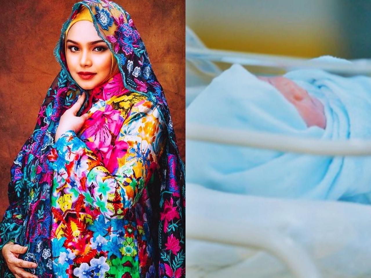 Tahniah! Dato' Sri Siti Nurhaliza Selamat Lahirkan Bayi Lelaki