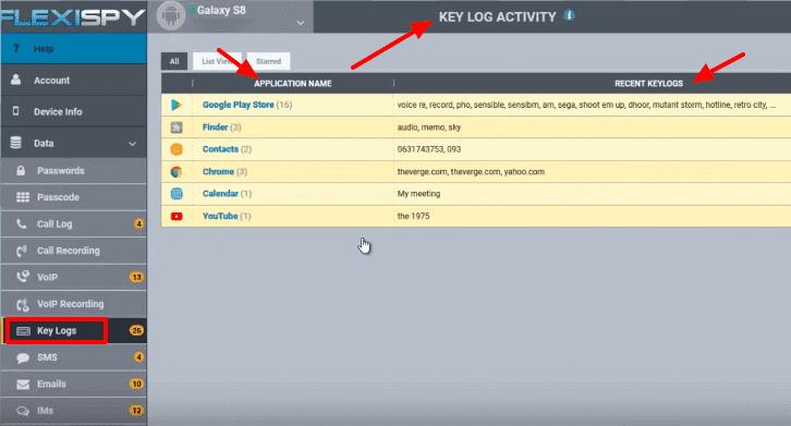 Flexispy keylogger apk download
