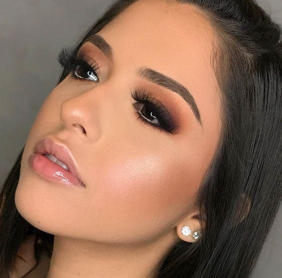 50 Ideias incríveis de maquiagem simples para noite