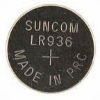 baterai koin LR936 Alkaline