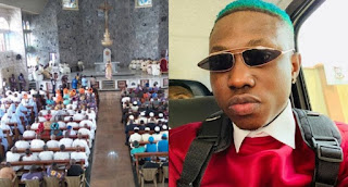 Zlatan Ibile reveals he goes to church twice a week