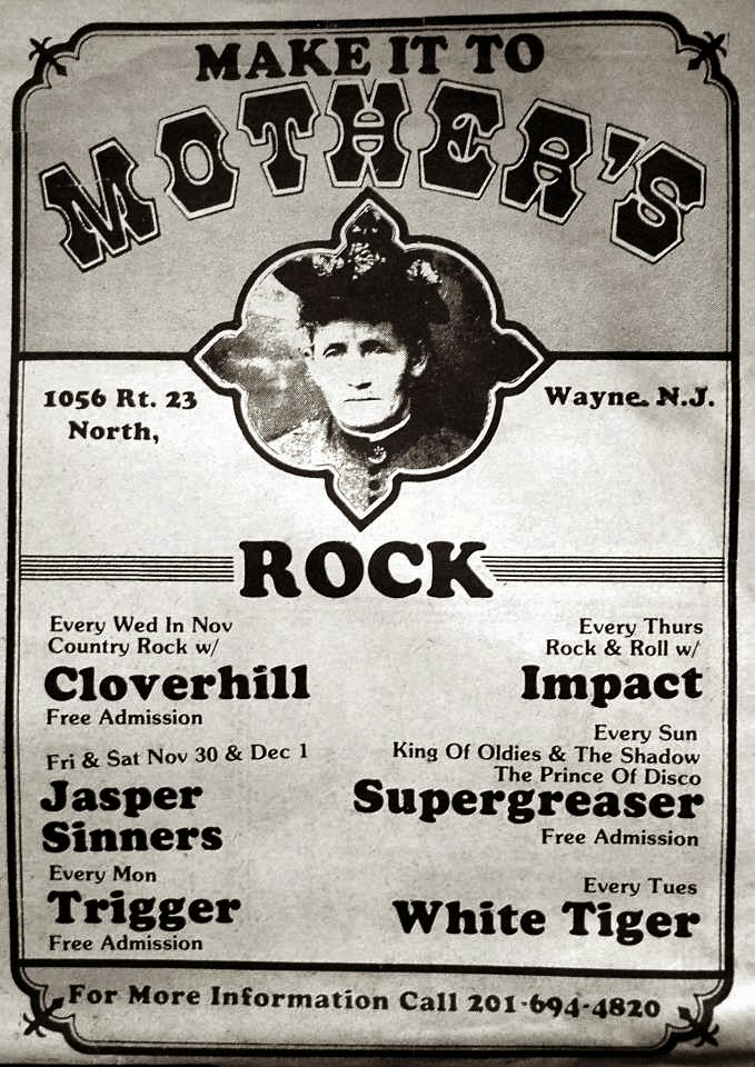 Mother's rock club band line up