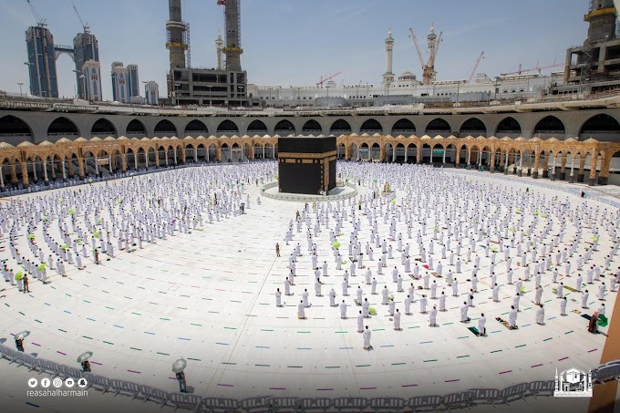 How can foreign Pilgrims perform Umrah during Ramadan?