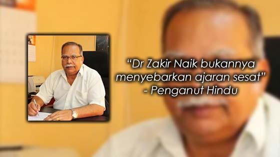 Teguran Sentap Seorang Penganut Hindu Kepada P. Ramasamy