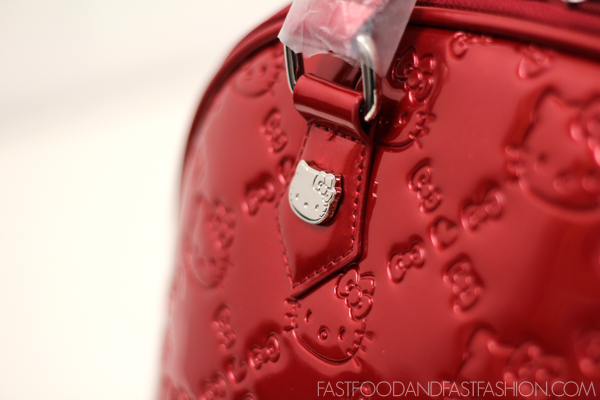Bag Baby   Loungefly Hello Kitty Red Patent Embossed Bag - Elle Blogs 878e30e7eb4dd