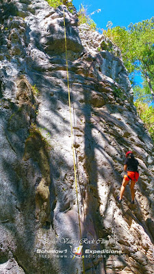 Rock Climbing at Echo Valley Sagada - Schadow1 Expeditions